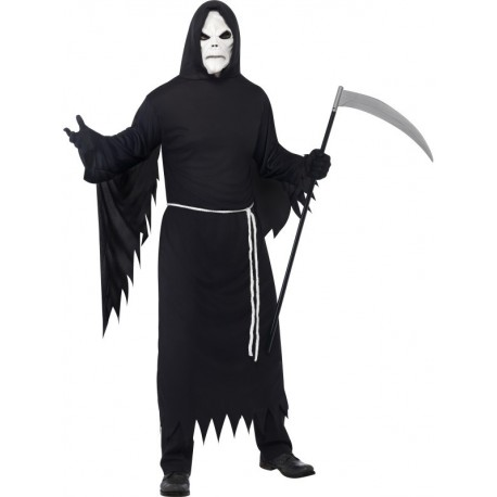 Grim Reaper Costume with Mask