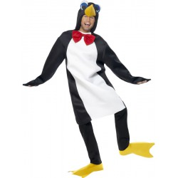 Penguin Costume In White and Black