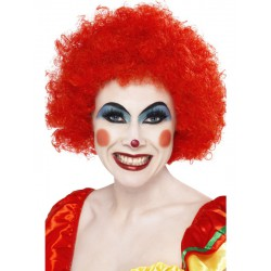 Crazy Clown Wig,Red