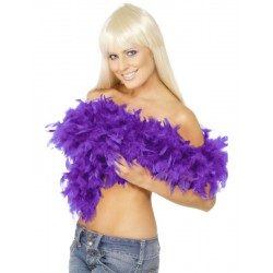 Deluxe Boa, Purple, Feather, 180Cm, 80G