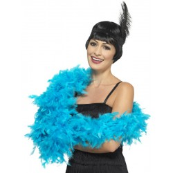 Deluxe Boa, Turquoise Blue